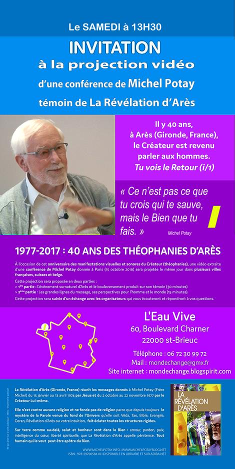 40 ans déjà !... 1977 : Le Créateur est venu parler à Arès, en Gironde, en France.