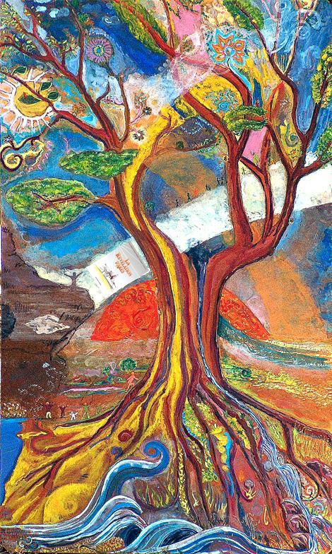 """""""L'arbre à huit mains"""""""