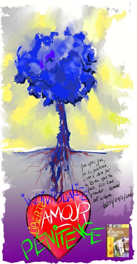 Le Créateur par La Révélation d'Arès appelle à la pénitence,...