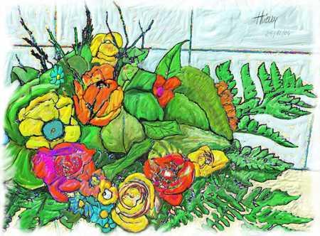 """""""Fleurs du Jardin"""""""